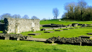 Lesnes Abbey Woods site
